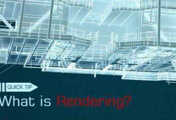 Renderização: o que o termo refere-se a?