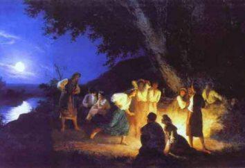 Encantamentos e rituais em Ivana Kupala