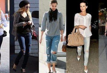 Podarte dżinsy – ponadczasowy styl