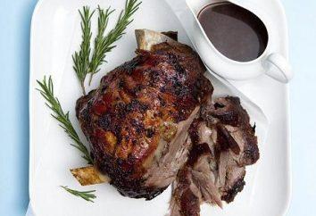 Comment faire cuire l'épaule d'agneau, rôti au four