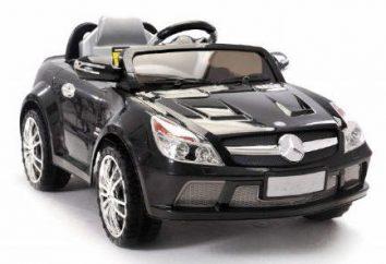 Samochody elektryczne dla dzieci: opis i opinie
