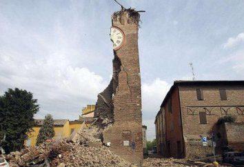 Los terremotos en Rimini en 2012, ya que era