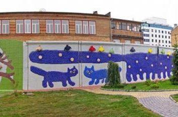 vicolo Paesaggio a Kiev – un colorato fiaba nel cuore della città