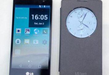 Smartphone LG Espíritu H422: una visión general, características y opiniones