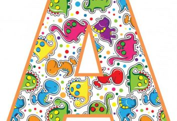 Alphabet pour les enfants. Développer l'alphabet pour les enfants