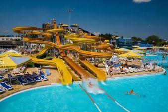 """Park wodny """"Golden Beach"""" Anapa – centrum rozrywki dla całej rodziny"""