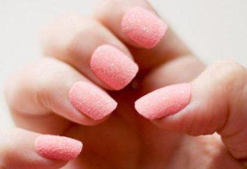 Zucchero Manicure come fare a casa