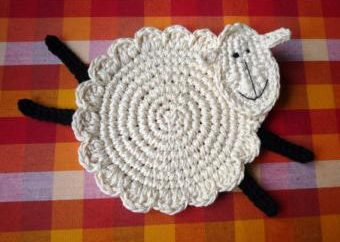 Crochet d'agneau: schéma et description. Comment attacher un crochet de mouton?