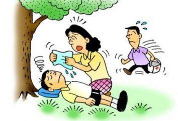 El golpe de calor peligroso en un niño? El tratamiento y los síntomas