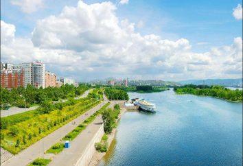 Territorio de Krasnoyarsk: área, áreas, el clima y otras características