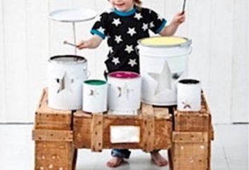 instrumenty muzyczne z rękami Jak i co zrobić. Instrumenty muzyczne dla dzieci z rękami