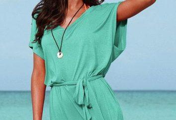Como rapidamente costurar um vestido de verão? mulheres agulha na nota