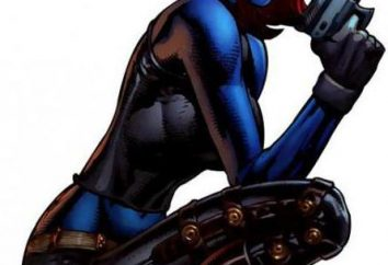 L'héroïne de la bande dessinée Mystic « Marvel ». Actrice Dzhenifer Lourens et d'autres artistes de ce rôle