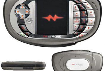 Visão geral da consola de jogos Nokia N-Gage: descrição, características e comentários