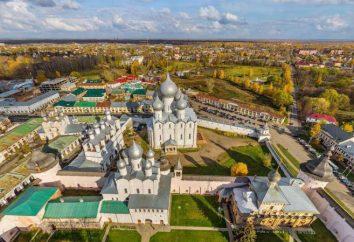 Rostov Cathédrale de l'Assomption: la restauration de photos