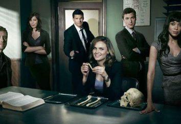 """la serie de detectives """"Bones"""" estadounidenses: la descripción de las series, actores y roles reales"""