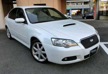 sedan desportivo Subaru Legacy B4