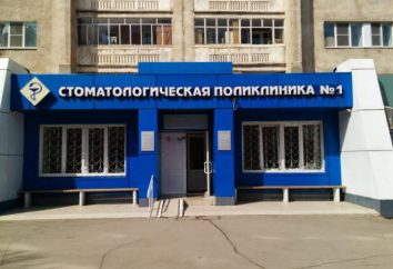 clínica dentária 1, serviços de Lipetsk e comentários