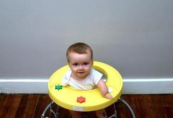Quando você pode colocar o bebê em um andador e se a fazê-lo?