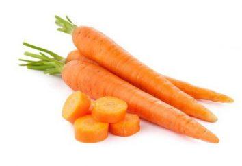Über Karotten sollten Geheimnis süß klingen
