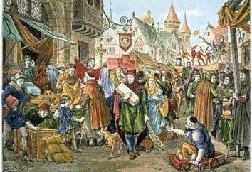 Städter – der Motor des Handels in den mittelalterlichen Städten