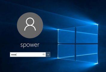 Jak zalogować się bez hasła. Windows 10: najprostsze sposoby odłączania