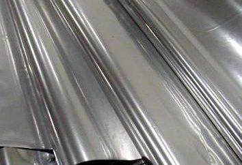 Folie metalizowane: rodzaje, przeznaczenie