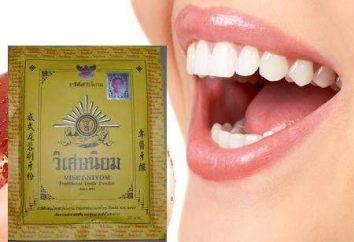 Pasta do zębów z Tajlandii: opinie, zdjęcia