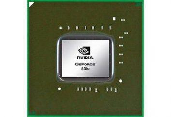 NVIDIA GeForce 820M – modèle d'évaluation, commentaires des internautes et des experts