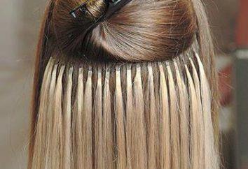 Extensions de cheveux. Cold Building: commentaires, photos