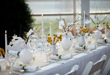 Decoración de la mesa de fiesta