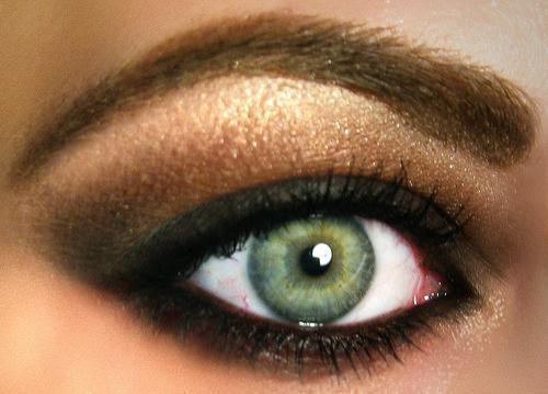Abend Make Up Für Grüne Augen Oder Wie Unwiderstehlich Werden
