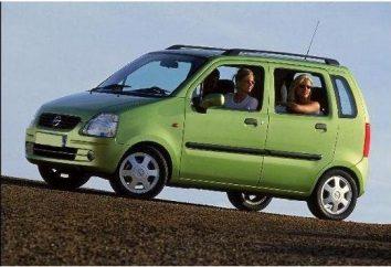 Visão geral do carro Opel Agila