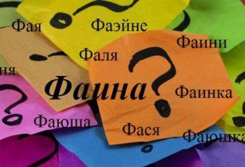 L'origine e significato del nome Faina