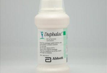 """Laxante """"Dufalac"""", los análogos de la sustancia activa, los efectos secundarios"""