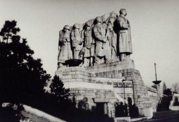 """Praga, um monumento a Stalin. História do monumento """"O povo da Tchecoslováquia – seu libertador"""""""