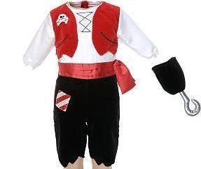 Lustige Piraten-Kostüm für meinen Sohn oder Tochter