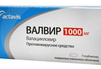 """""""Valvira"""" Tabletki: instrukcja obsługi, opinie"""