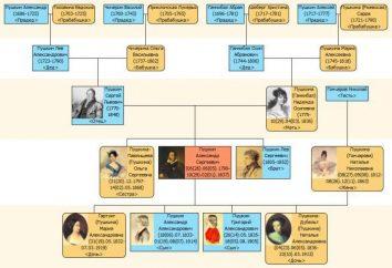 Famille Pouchkine des ancêtres aux descendants