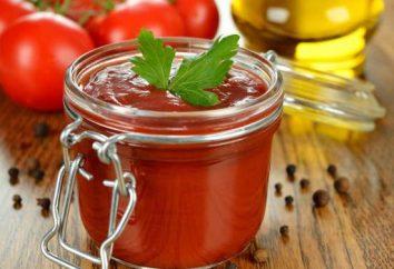 Ketchup ze skrobią: przepis na zimę