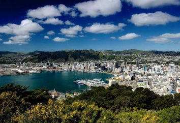 Wellington, Neuseeland Sehenswürdigkeiten Neuseeland Hauptstadt Wellington, Fotos, Klima, Wetter