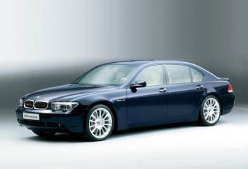 """Car """"BMW E65"""": description, caractéristiques, caractéristiques et commentaires"""