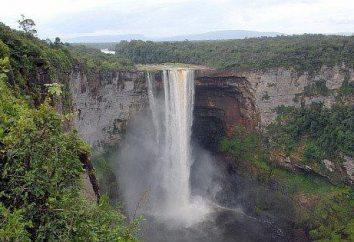 Piękno i przepych gigantów wody: co to jest wodospad?