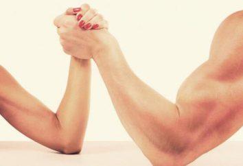 Silne ramiona: ćwiczenia