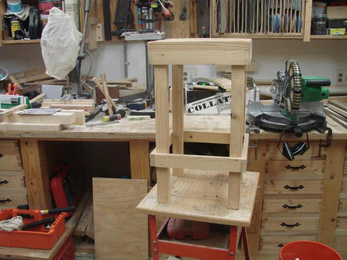 Sgabello in legno con le loro mani: passo dopo passo le istruzioni