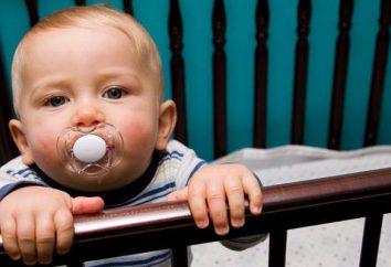 O que fazer se uma criança (2 anos) não dorme à noite, muitas vezes acordar gritando?