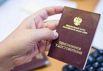 L'âge de la retraite en Russie pour les hommes et les femmes de différentes professions