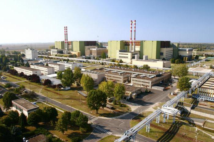 Risultati immagini per centrale nucleare di Paks