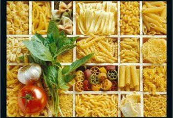 Gracia, Italia: i più diffusi tipi di pasta