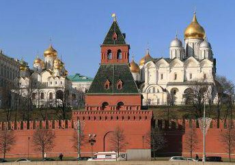 Taynitskaya Wieża Kreml: rok budowy i zdjęcia